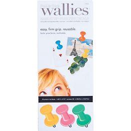 Wallies Pushpin Decals