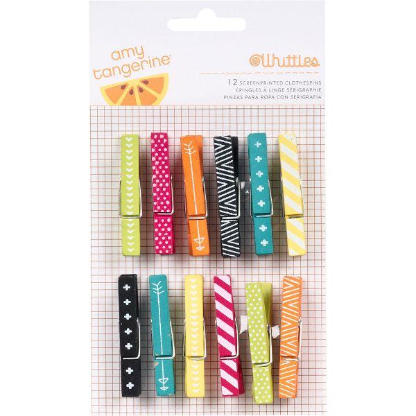 Summer Whittles Clothespins