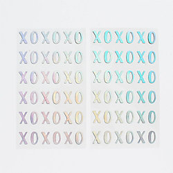 XOXO Holographic Stickers
