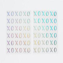 XOXO Holographic Stickers