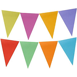Banner Day Sticky Note Pennants