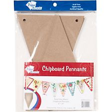 Chipboard Pennant Kit