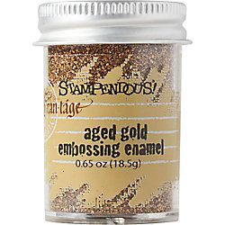 Aged Gold Embossing Enamel