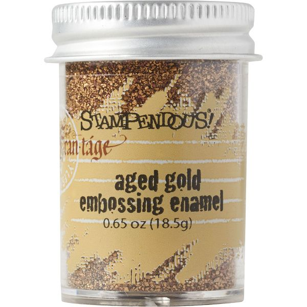 Aged Gold Embossing Enamel