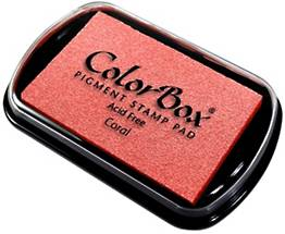 Coral ColorBox Inkpad