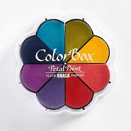 Primary Pastel ColorBox Chalk Petal Point Inkpad