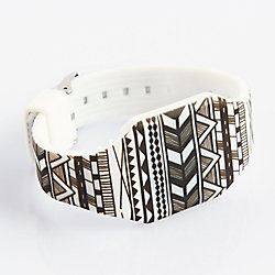 Black And White Tribal Wrist Watch