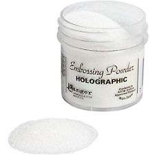 Holographic Embossing Powder