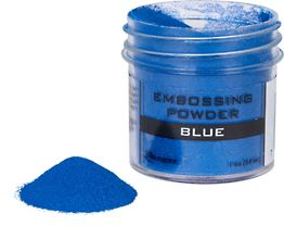 Blue Embossing Powder