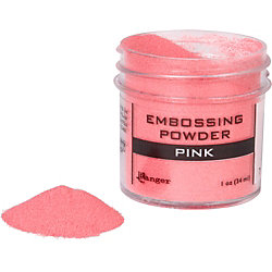 Pink Embossing Powder
