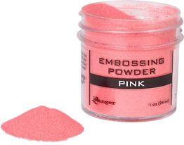 Pink Embossing Powder