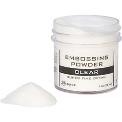 Clear Super Fine Detail Embossing Powder
