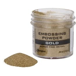 Gold Super Fine Detail Embossing Powder