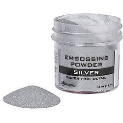 Silver Super Fine Detail Embossing Powder