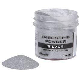 Silver Super Fine Detail Embossing Powder