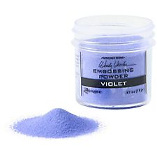 Violet Embossing Powder
