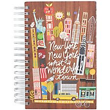 New York Script Spiral Journal