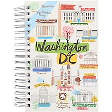 Washington DC Script Spiral Journal