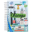 Chicago Script Spiral Journal