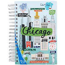 Chicago Script Spiral Journal