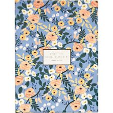 Rifle Paper Co. Blue Floral Social Stationery