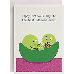 Edamame A6 Mother's Day Card