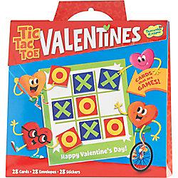 Tic Tac Toe Valentines Set
