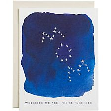 Stars Wherever We Are A2 Mother's Day Card