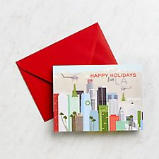 Happy Holidays From LA Boxed Cards