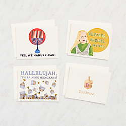 Nods to Pop Culture Boxed Hannukah Cards
