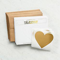 Telegram Scratch-Off Cards