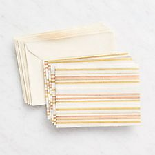 Thin Multi-Stripe Cards