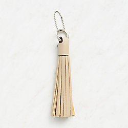 Taupe Tassel Power Cord