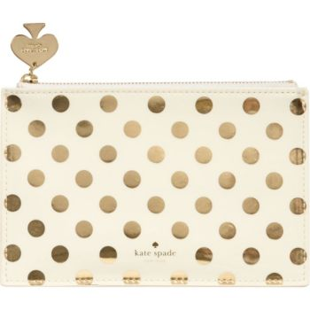 Kate Spade New York Gold Dot Pencil Pouch Paper Source