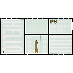 kate spade new york Mint Sticky Note Set
