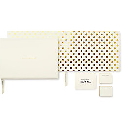 kate spade new york Bride and Groom Guest Book