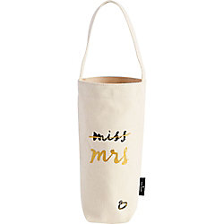Miss to Mrs Wine Tote Bag