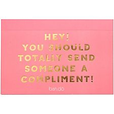 Ban.do Compliment Postcards