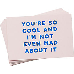 You Are So Cool Compliment Cards