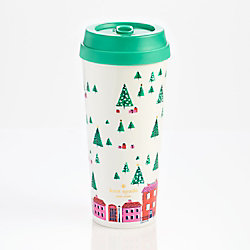 kate spade new york Holiday Village Mug