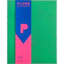 Plumb Notebooks Stack Book