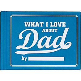 What I Love About Dad Journal