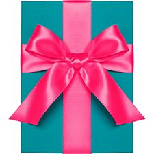 Neon Pink Satin Ribbon