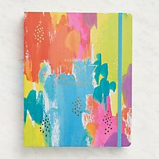Paper Source Colorful Hidden Spiral Planner 2016-2017