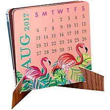 Paper Source Mini Accordion Calendar 2017
