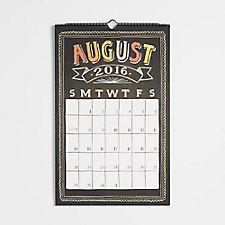 Paper Source Chalkboard Calendar 2016-2017