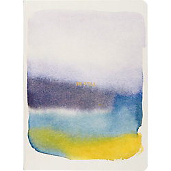 Watercolor Be Still Journal