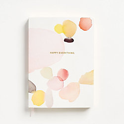 Watercolor Happy Journal