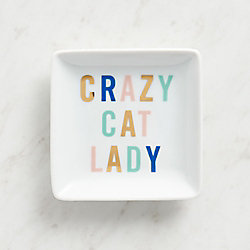 Crazy Cat Lady Trinket Dish
