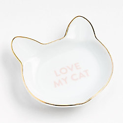 Cat Shape Trinket Dish